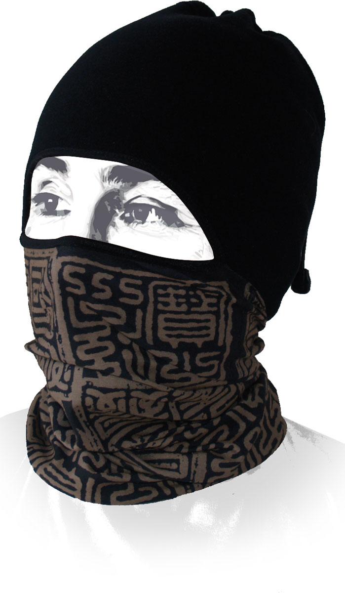 Шапка-бандана Wind X-Treme ArcticWind, цвет: черный, коричневый. 12097. Размер универсальный топор patriot pa 356 t7 x treme [777001300]