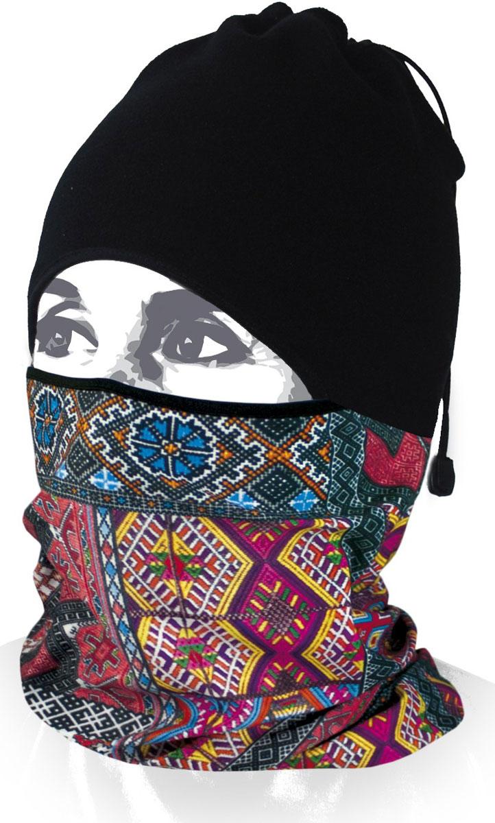 Шапка-бандана Wind X-Treme ArcticWind, цвет: черный, синий. 12207. Размер универсальный12207Многофункциональный головной убор Wind X-Treme ArcticWind - это современный предмет одежды, который защитит вас от самого лютого мороза благодаря комбинации флиса и микрофибры. Его можно использовать как шапку, бандану, маску, шарф, повязку, платок. Изделие обладает антибактериальным эффектом и подходит для занятий бегом, походов, скалолазания, езды на велосипеде, сноуборда, катания на лыжах, мотоциклах, игры в хоккей, а также для повседневного использования.Сочетание ткани и шапочки из флиса гарантирует дополнительные тепло и комфорт, отведение влаги, быстрое высыхание. Шапка-бандана подходит для обхвата головы 53-62 см.