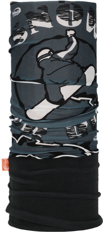 Бандана Wind X-Treme PolarWind, цвет: серый, белый. 2007. Размер универсальный wind x treme polarwind inca blue