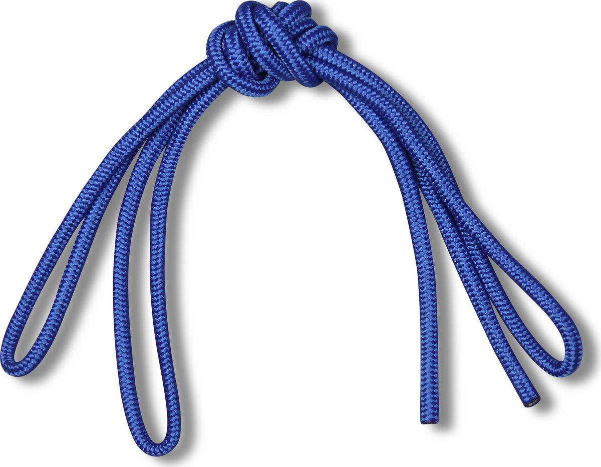 Скакалка гимнастическая Indigo Great, цвет: синий, 3 м00018338Скакалка гимнастическая используется как один из предметов в художественной гимнастике.Яркая Гимнастическая скакалка Great не имеет ручек, вместо них можно завязывать узел или обжигать края в веревочной скакалке.Упражнения со скакалкой для художественной гимнастики хорошо укрепляют мышцы всего тела, особенно ног, повышают состояние общей тренированности и выносливости.Веревка для скакалки должна быть длиной 2,5 - 3 м.