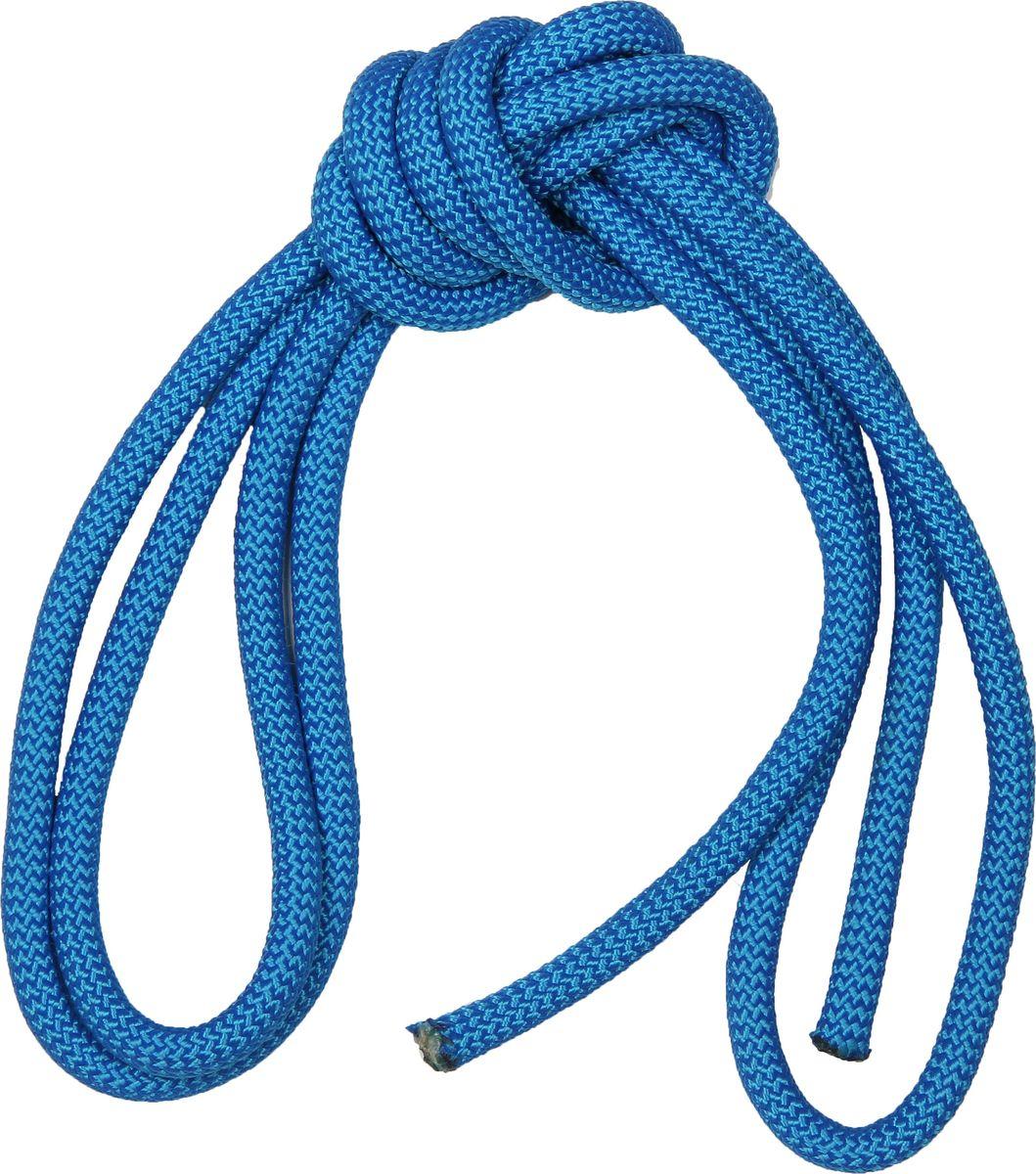 """Скакалка гимнастическая """"Indigo"""", утяжеленная, цвет: синий, 2,5 м"""