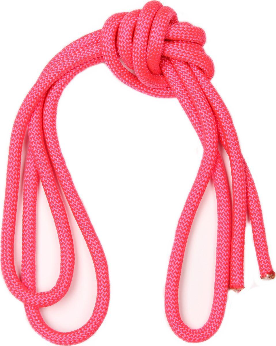 Скакалка гимнастическая Indigo, утяжеленная, цвет: розовый, 2,5 м00021628Скакалка для художественной гимнастики Indigo достаточно тяжелая и хорошо летает, но в то же время мягкая и в процессе обучения прыжкам не хлещет по ногам. Такая скакалка очень удобна и практична.