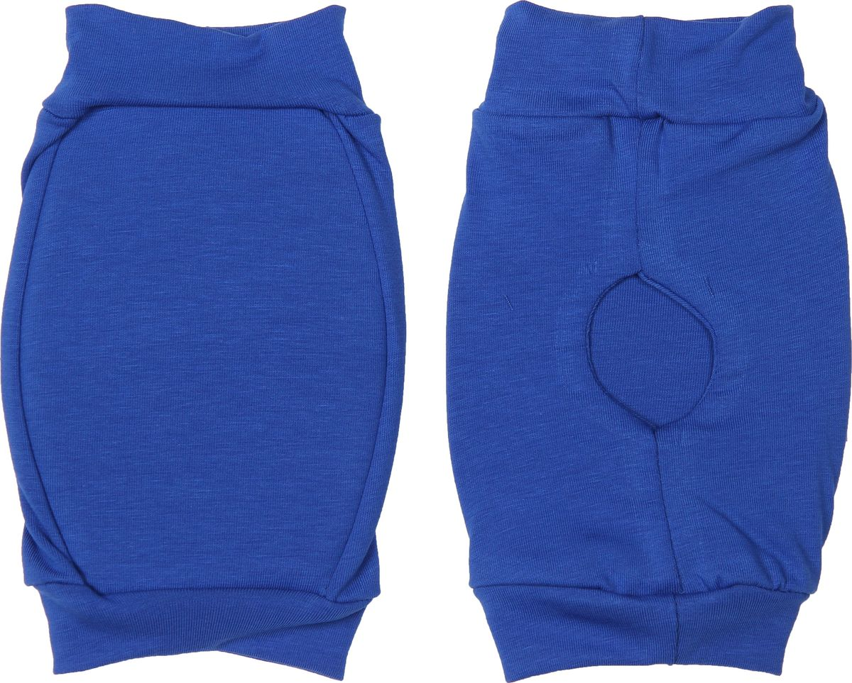 Наколенники для гимнастики и танцев Indigo, цвет: васильковый, 2 шт. Размер S