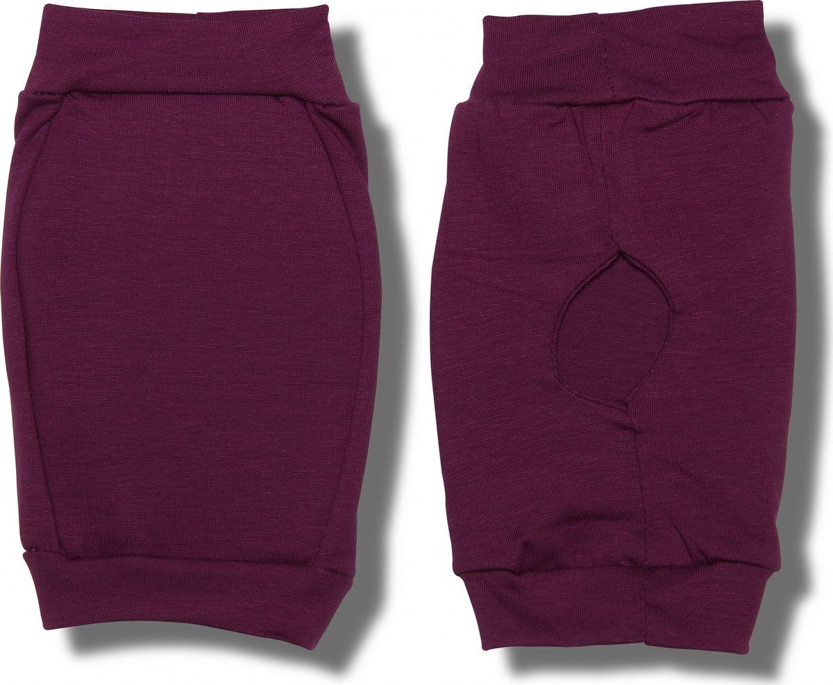 Наколенники для гимнастики и танцев Indigo, цвет: фиолетовый, 2 шт. Размер XS