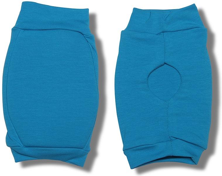 Наколенники для гимнастики и танцев Indigo, цвет: бирюзовый, 2 шт. Размер S