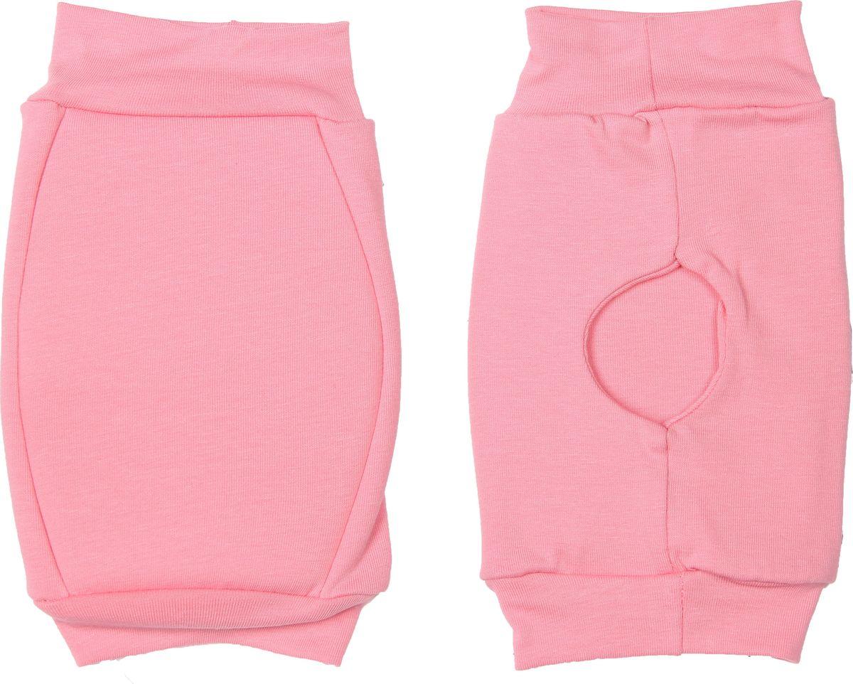 Наколенники для гимнастики и танцев Indigo, цвет: розовый, 2 шт. Размер L