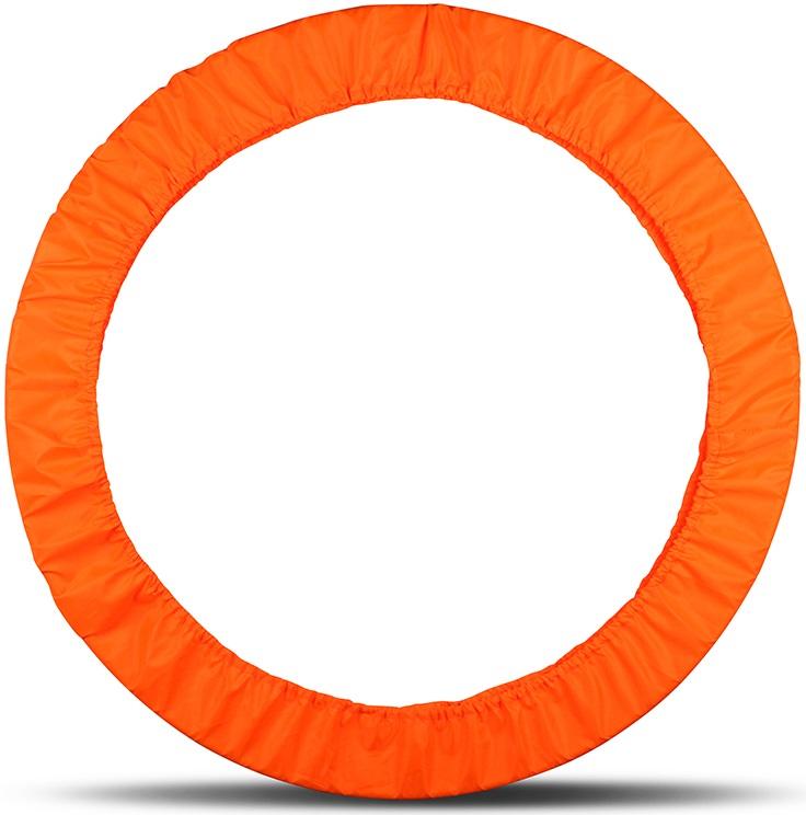 Чехол для обруча Indigo, цвет: оранжевый, диаметр 60 х 90 см