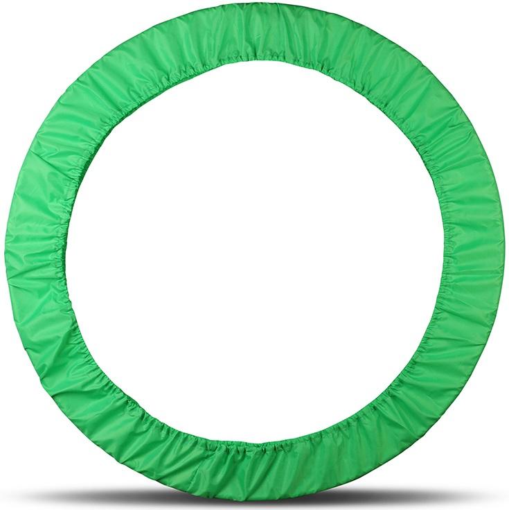 Чехол для обруча Indigo, цвет: салатовый, диаметр 60 х 90 см00022397Чехол для обруча от Российского производителя обеспечит его сохранность и удобство при транспортировке.Чехол для обруча - универсальный, рассчитан на все размеры обручей до 900 мм