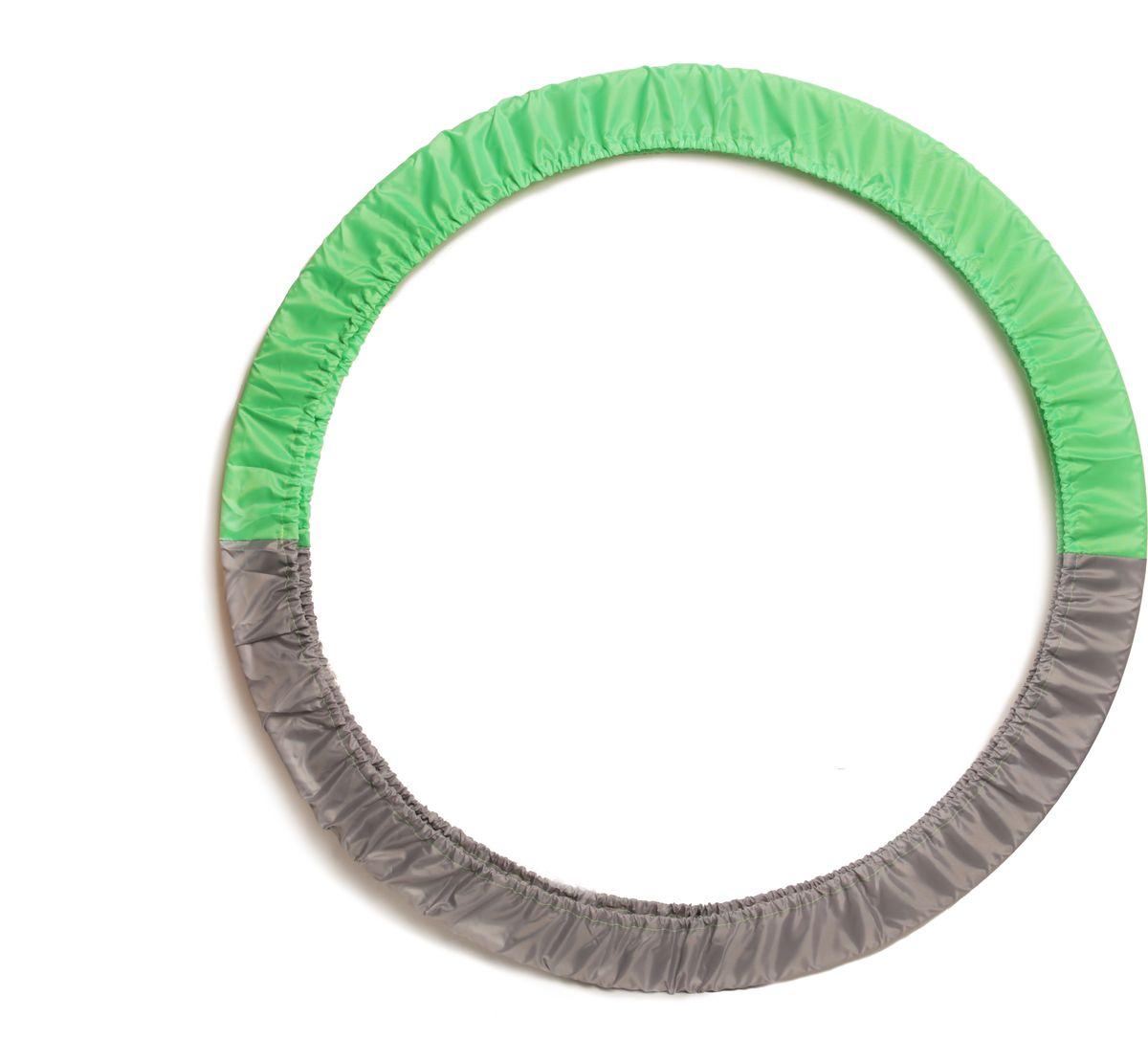 Чехол для обруча Indigo, цвет: салатово-серый, диаметр 60 х 90 см00022399Чехол для обруча от Российского производителя обеспечит его сохранность и удобство при транспортировке.Чехол для обруча - универсальный, рассчитан на все размеры обручей до 900 мм.