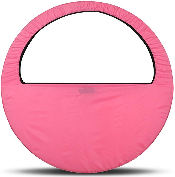 Сумка-чехол для обруча Indigo, цвет: розовый, диаметр 60 х 90 см