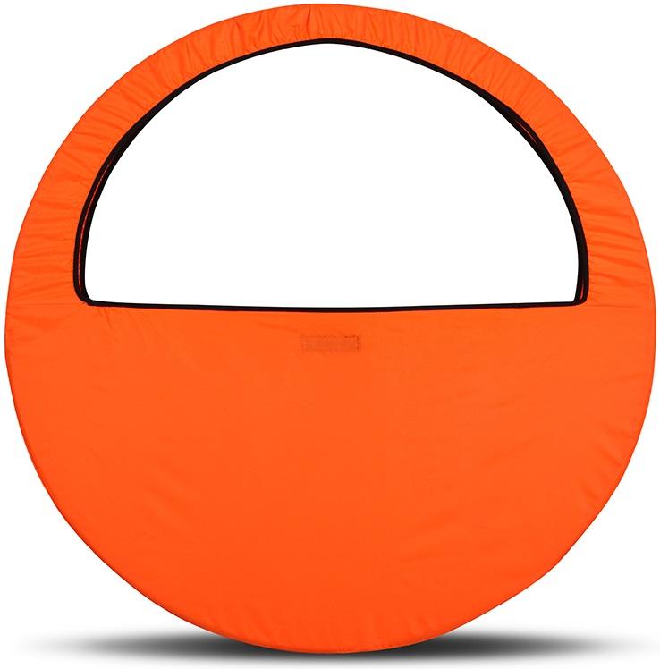 Сумка-чехол для обруча Indigo, цвет: оранжевый, диаметр 60 х 90 см - Художественная гимнастика