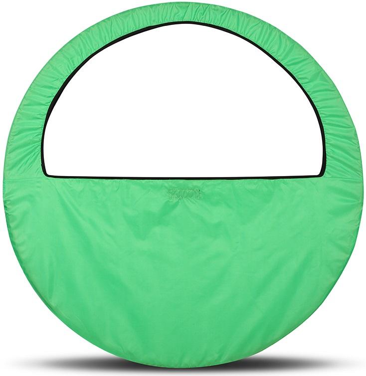 Сумка-чехол для обруча Indigo, цвет: салатовый, диаметр 60 х 90 см - Художественная гимнастика
