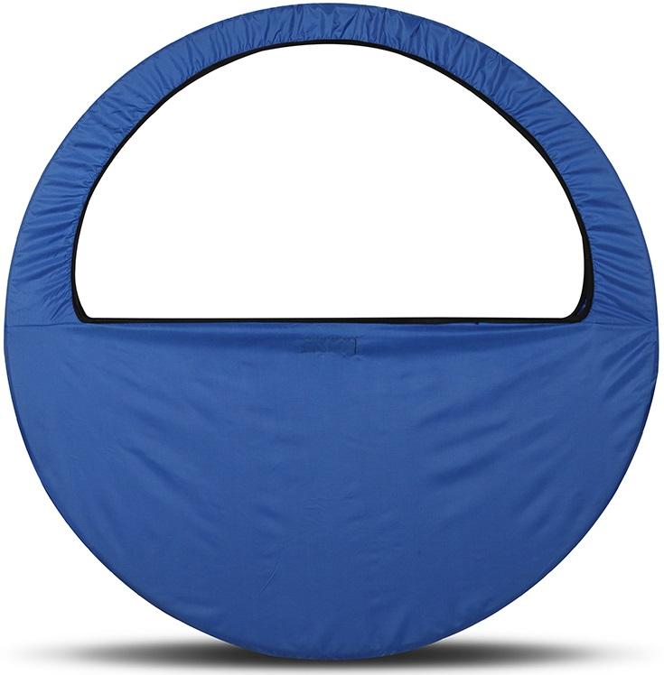 Сумка-чехол для обруча Indigo, цвет: синий, диаметр 60 х 90 см
