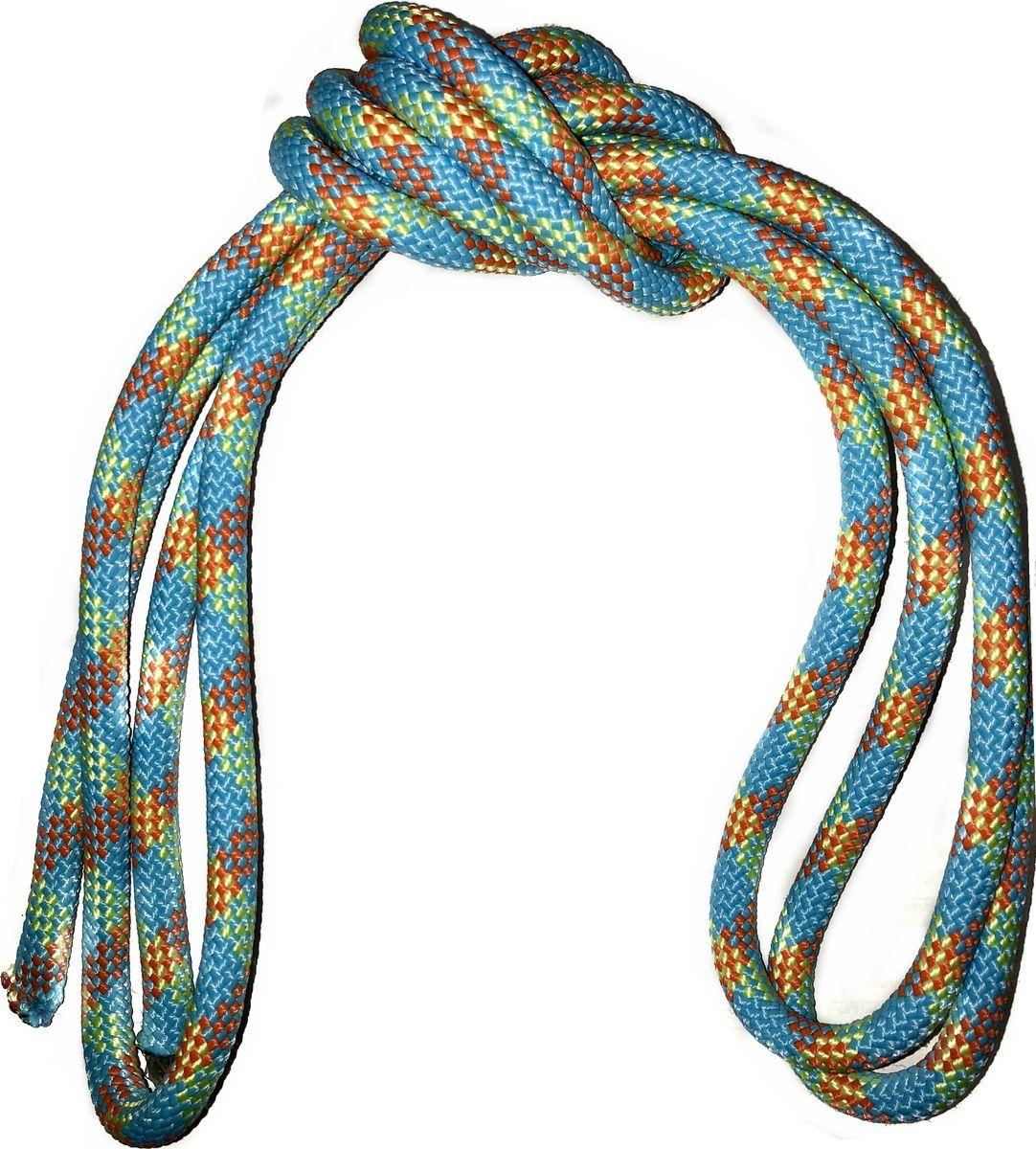 Скакалка гимнастическая Indigo, утяжеленная, цвет: разноцветный, 3 м. 00022411 скакалка скоростная proxima crossfit цвет черный красный 3 м