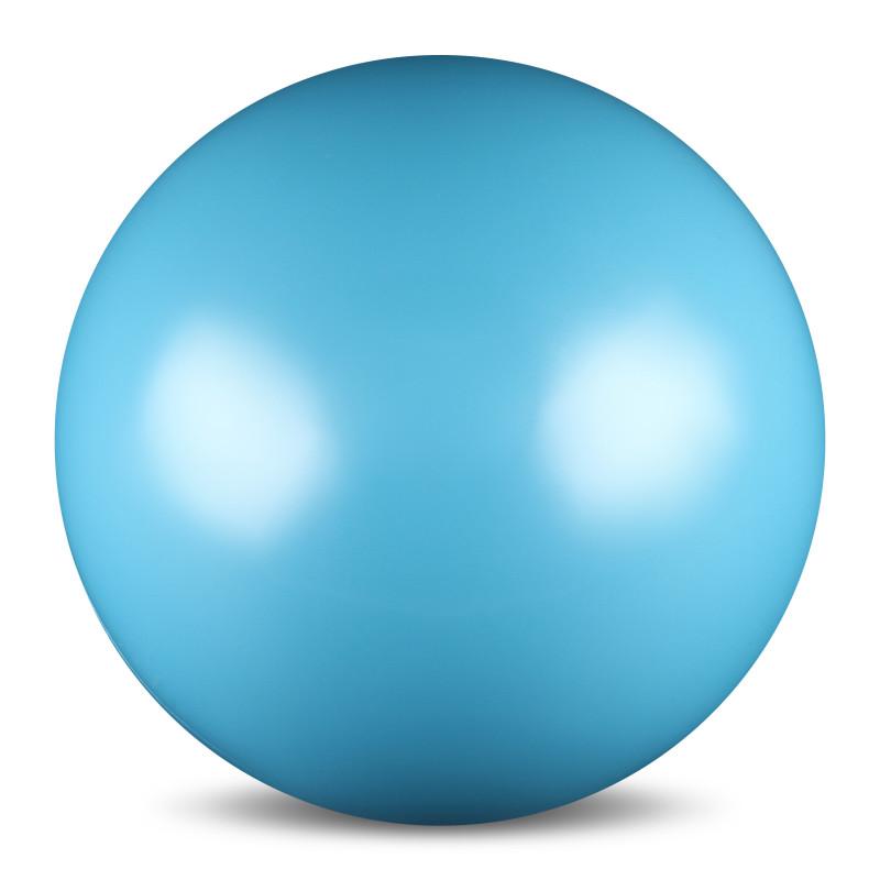 Мяч для художественной гимнастики  Indigo , силиконовый, цвет: голубой, диаметр 15 см - Художественная гимнастика