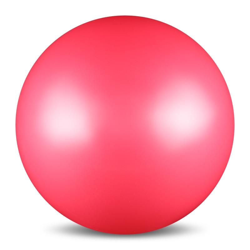 Мяч для художественной гимнастики  Indigo , силиконовый, цвет: розовый, диаметр 15 см - Художественная гимнастика