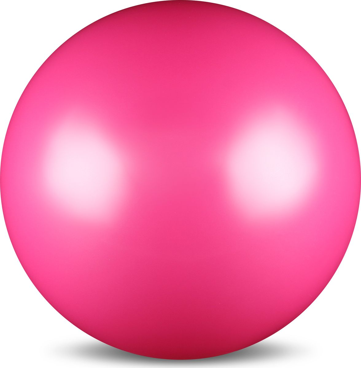 Мяч для художественной гимнастики Indigo, силиконовый, цвет: фуксия, диаметр 15 см ортопедический мяч для гимнастики в курске