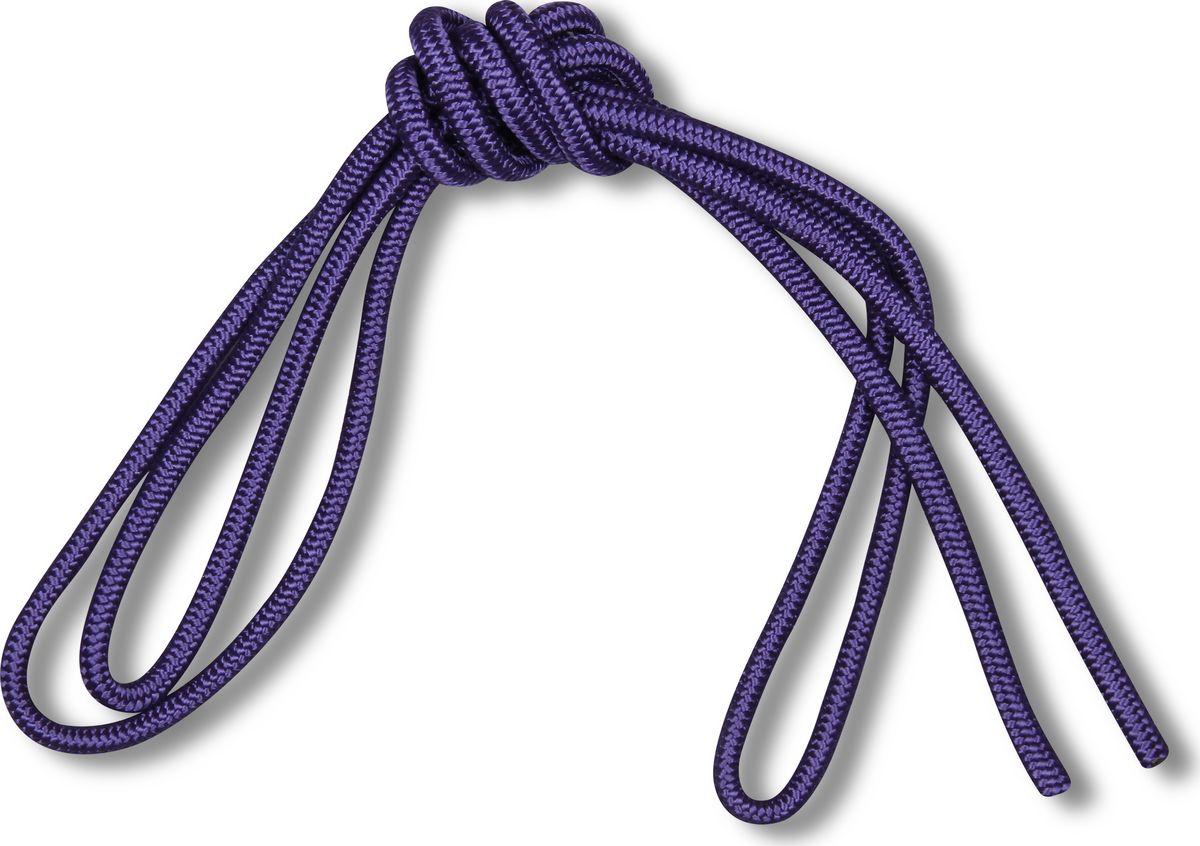 Скакалка гимнастическая Indigo Great, цвет: фиолетовый, 3 м00023375Скакалка гимнастическая используется как один из предметов в художественной гимнастике.Яркая Гимнастическая скакалка Great не имеет ручек, вместо них можно завязывать узел или обжигать края в веревочной скакалке.Упражнения со скакалкой для художественной гимнастики хорошо укрепляют мышцы всего тела, особенно ног, повышают состояние общей тренированности и выносливости.Веревка для скакалки должна быть длиной 2,5 - 3 м.