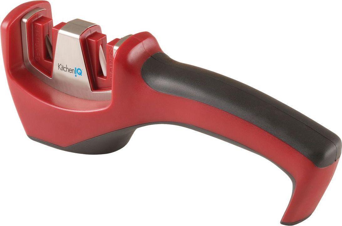 Механическая точилка. Точилка предназначена для любых ножей с прямым лезвием. Подходит для японских ножей. Угол заточки: 15°  Количество этапов заточки: 2  Тип абразивного покрытия: Керамика.
