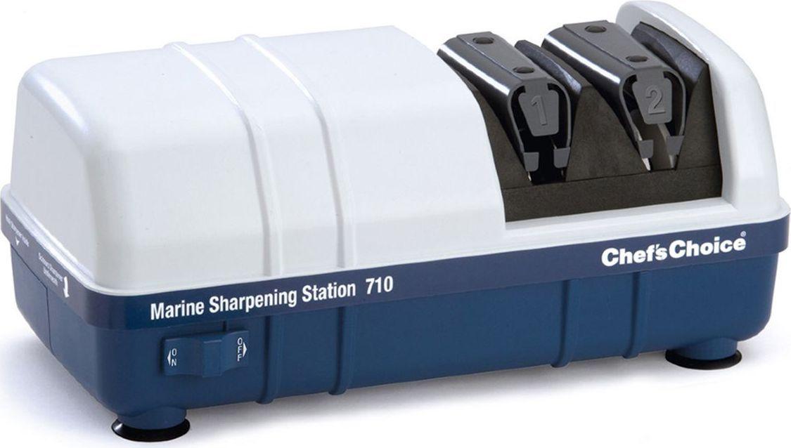 Точильная станция для рыбаков ChefsChoice, цвет: белый. СН/710СН/710Электрическая точильная станция специально разработана для рыболовов, она подойдёт как обычным рыболовам так и любителям морской рыбалки. Этот революционный продукт универсален и прост в использовании. Он включает в себя три профессиональные точилки в одном компактном устройстве. 1. Точилка для ножей2.Точилка для ножниц3.Устройство для заточки любых типов крючков Водонепроницаемость.Работает от сети с напряжением 220вт, а также от бортовой сети катера или автомобиля 12 Вт.