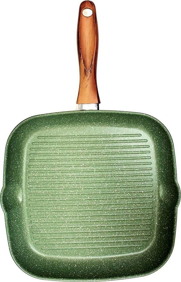Антипригарное покрытие на водной основе — 5 слоев. Внешние слои устойчивы к пятнам и высоким температурам. Запатентованное покрытие Ollia-tech — эта смесь растительных масел в составе покрытия улучшает антипригарные свойства и делает поверхность гладкой, без пористости. Минеральные частицы, добавленные в покрытие, гарантируют повышенную устойчивость к истиранию. Ручки из смолы, с эффектом оливкового дерева, устойчивы к мытью в посудомоечной машине. Без кислоты (PFOA FREE). Сделано в Италии. Подходит для всех типов плит. Не применять агрессивных моющих и абразивных средств. Протирать мягкой влажной тканью.