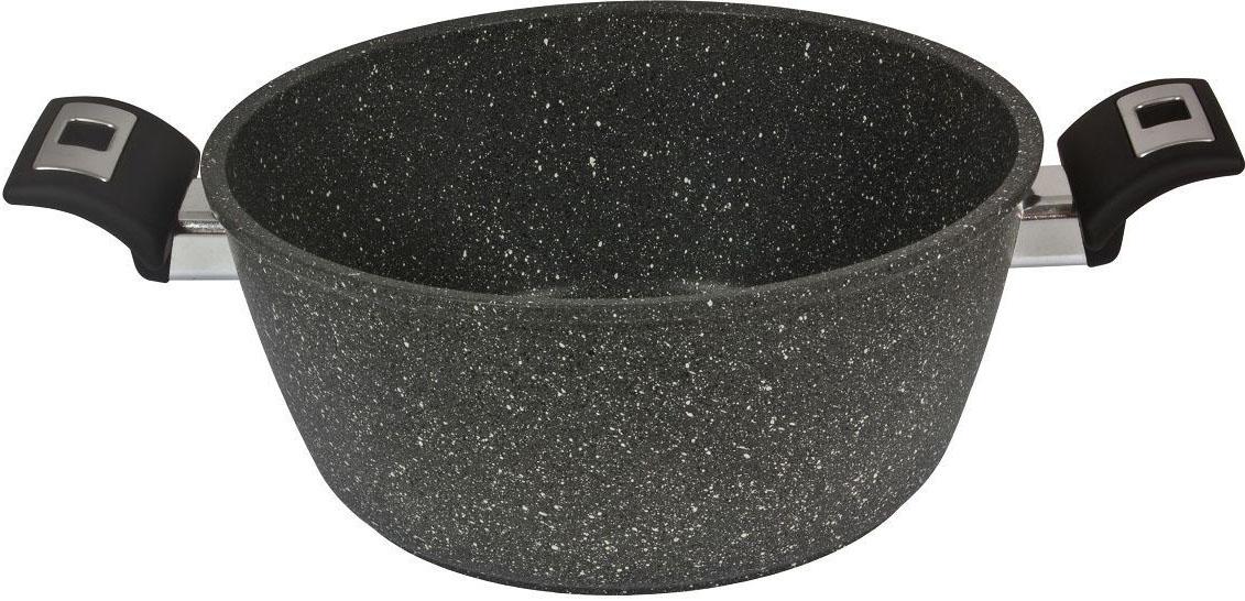 Антипригарное покрытие на водной основе, обогащенное частицами минералов, что обеспечивает большую твердость и прочность. 6 слоев Illa Rock (запатентованное покрытие). Утолщенное дно (4,5 мм), что обеспечивает равномерное распределение жара и экономию энергии. Ручки Soft Touch, со вставкой из стали. Без кислоты (PFOA FREE).Сделано в Италии. Подходит для всех типов плит. Не применять агрессивных моющих и абразивных средств. Протирать мягкой влажной тканью.