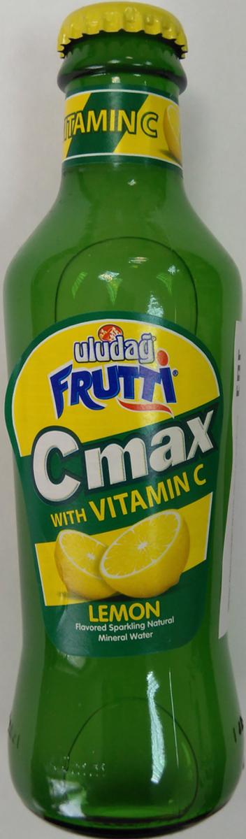 Uludag Frutti Лимон и витамин +С напиток среднегазированный, 0,2 л ufeelgood organic pumpkin seeds органические семена тыквы 150 г