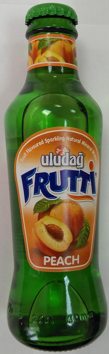 Uludag Frutti Персик напиток среднегазированный, 0,2 л uludag frutti киви и витамин с напиток среднегазированный 0 2 л