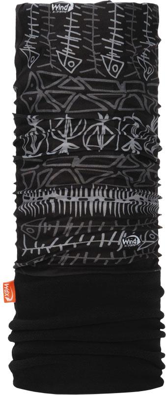 Бандана Wind X-Treme PolarWind, цвет: черный. 2036. Размер универсальный топор patriot pa 356 t7 x treme [777001300]