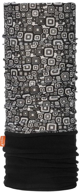 Бандана Wind X-Treme PolarWind, цвет: черный, белый. 2040. Размер универсальный2040Многофункциональный головной убор Wind X-Treme Polarwind - это современный предмет одежды, который защитит вас от самого лютого мороза благодаря комбинации флиса и микроволокна. Его можно использовать как шапку, бандану, маску, шарф, повязку, платок. Изделие обладает антибактериальным эффектом и подходит для занятий бегом, походов, скалолазания, езды на велосипеде, сноуборда, катания на лыжах, мотоциклах, игры в хоккей, а также для повседневного использования.Сочетание ткани и флиса гарантирует дополнительные тепло и комфорт, отведение влаги, быстрое высыхание. Бандана-туда подходит для обхвата головы 53-62 см.