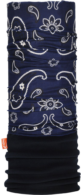Бандана Wind X-Treme PolarWind, цвет: синий. 2053. Размер универсальный2053Многофункциональный головной убор Wind X-Treme Polarwind - это современный предмет одежды, который защитит вас от самого лютого мороза благодаря комбинации флиса и микроволокна. Его можно использовать как шапку, бандану, маску, шарф, повязку, платок. Изделие обладает антибактериальным эффектом и подходит для занятий бегом, походов, скалолазания, езды на велосипеде, сноуборда, катания на лыжах, мотоциклах, игры в хоккей, а также для повседневного использования.Сочетание ткани и флиса гарантирует дополнительные тепло и комфорт, отведение влаги, быстрое высыхание. Бандана-туда подходит для обхвата головы 53-62 см.