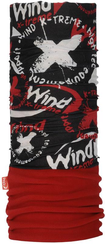 Бандана Wind X-Treme PolarWind, цвет: красный, черный. 2082. Размер универсальный топор patriot pa 356 t7 x treme [777001300]