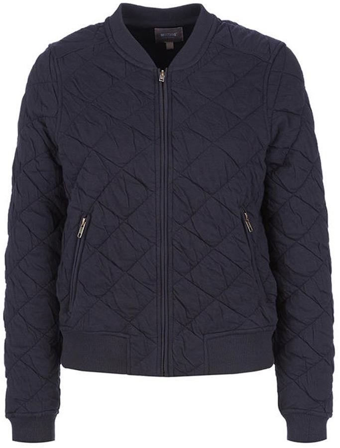 Купить Куртка женская Mustang Blouson Sweatjacket, цвет: синий. 1005148-4082. Размер M (46)