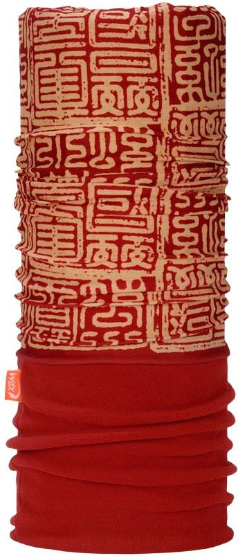 Бандана Wind X-Treme PolarWind, цвет: красный, бежевый. 2098. Размер универсальный топор patriot pa 356 t7 x treme [777001300]
