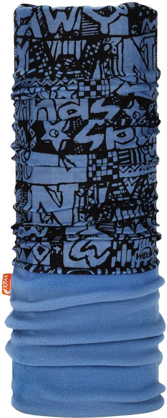 Бандана Wind X-Treme PolarWind, цвет: голубой, черный. 2132. Размер универсальный топор patriot pa 356 t7 x treme [777001300]