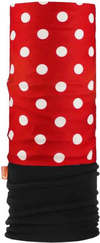 Бандана Wind X-Treme PolarWind, цвет: красный, черный. 2196. Размер универсальный2196Многофункциональный головной убор Wind X-Treme Polarwind - это современный предмет одежды, который защитит вас от самого лютого мороза благодаря комбинации флиса и микроволокна. Его можно использовать как шапку, бандану, маску, шарф, повязку, платок. Изделие обладает антибактериальным эффектом и подходит для занятий бегом, походов, скалолазания, езды на велосипеде, сноуборда, катания на лыжах, мотоциклах, игры в хоккей, а также для повседневного использования.Сочетание ткани и флиса гарантирует дополнительные тепло и комфорт, отведение влаги, быстрое высыхание. Бандана-туда подходит для обхвата головы 53-62 см.