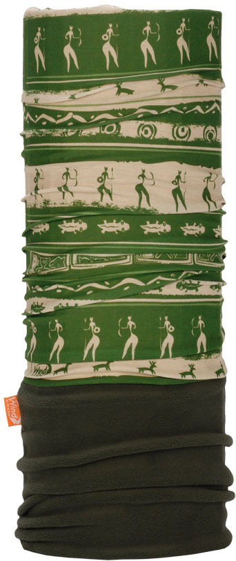 Бандана Wind X-Treme PolarWind, цвет: зеленый, бежевый. 2214. Размер универсальный топор patriot pa 356 t7 x treme [777001300]