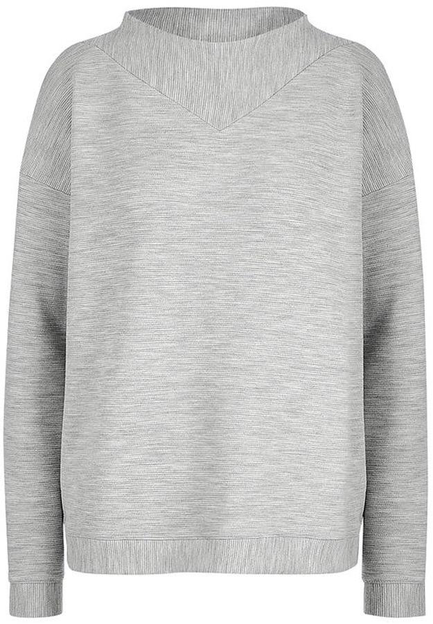 Купить Толстовка женская Mustang Fancy Sweatshirt, цвет: серый. 1005422-4141. Размер M (46)