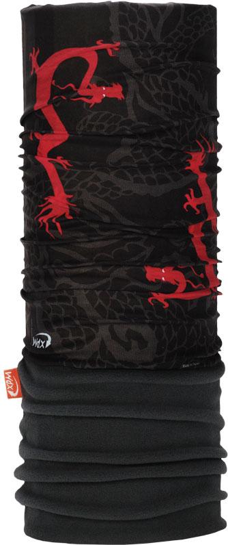 Бандана Wind X-Treme PolarWind, цвет: черный, красный. 2220. Размер универсальный топор patriot pa 356 t7 x treme [777001300]