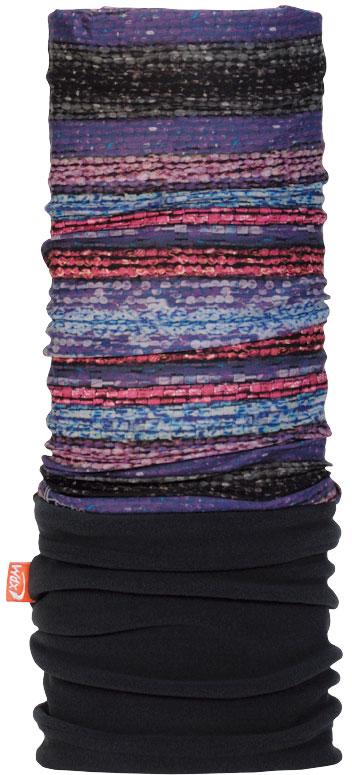 Купить Бандана Wind X-Treme PolarWind, цвет: черный, голубой. 2278. Размер универсальный