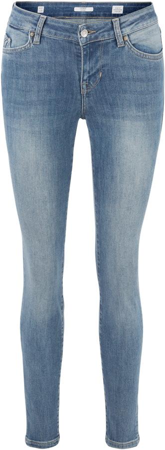 Джинсы женские Mustang Jasmin Jeggins, цвет: синий. 1005220-5000-882. Размер 29-32 (44/46-32) джинсы mustang 1005650 5000 314