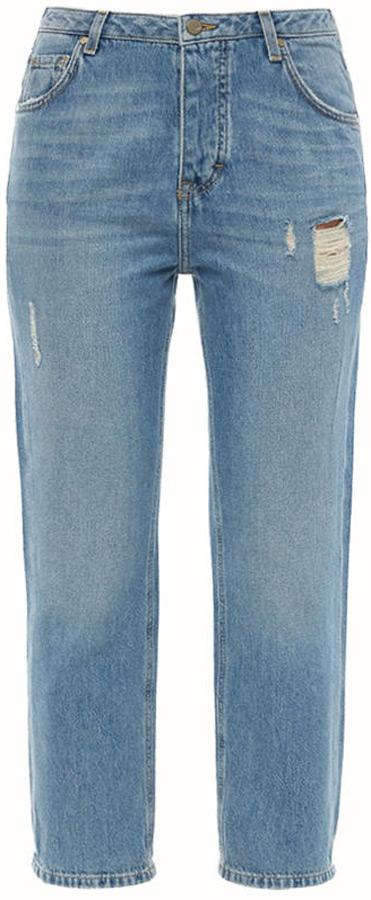 Джинсы женские Mustang Vintage Cropped, цвет: синий. 1005222-5000-213. Размер 29 (44/46) джинсы mustang 1005650 5000 314