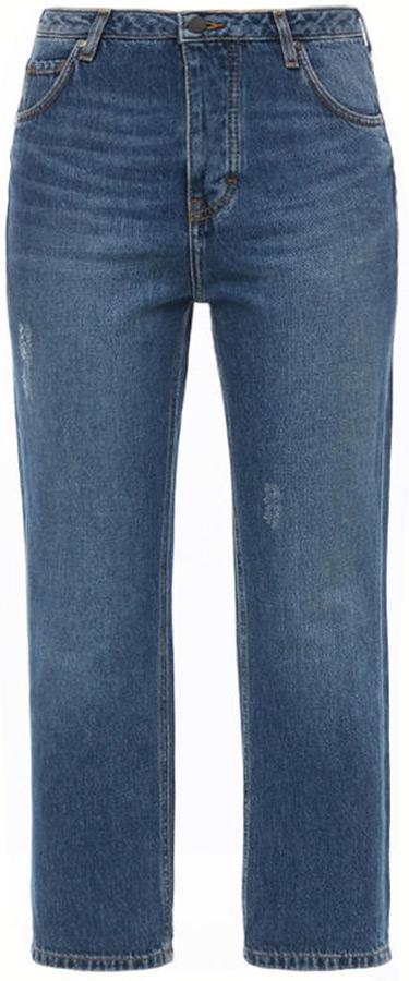 Джинсы женские Mustang Vintage Cropped, цвет: синий. 1005222-5000-883. Размер 32 (48)