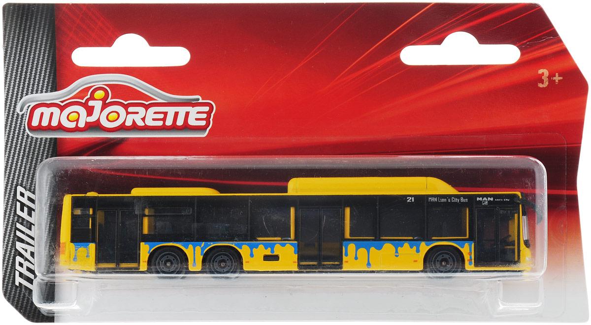 Majorette Автобус цвет желтый