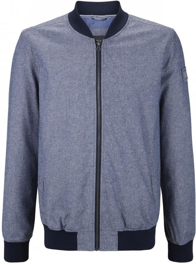 Купить Куртка мужская Mustang Blouson, цвет: синий. 1005658-5226. Размер S (46)