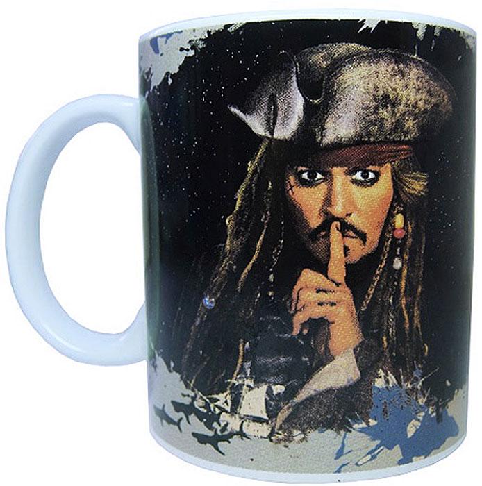Disney Кружка детская Пираты Карибского моря Капитан Джек Воробей 350 мл пазл step puzzle 360эл disney пираты карибского моря 96052