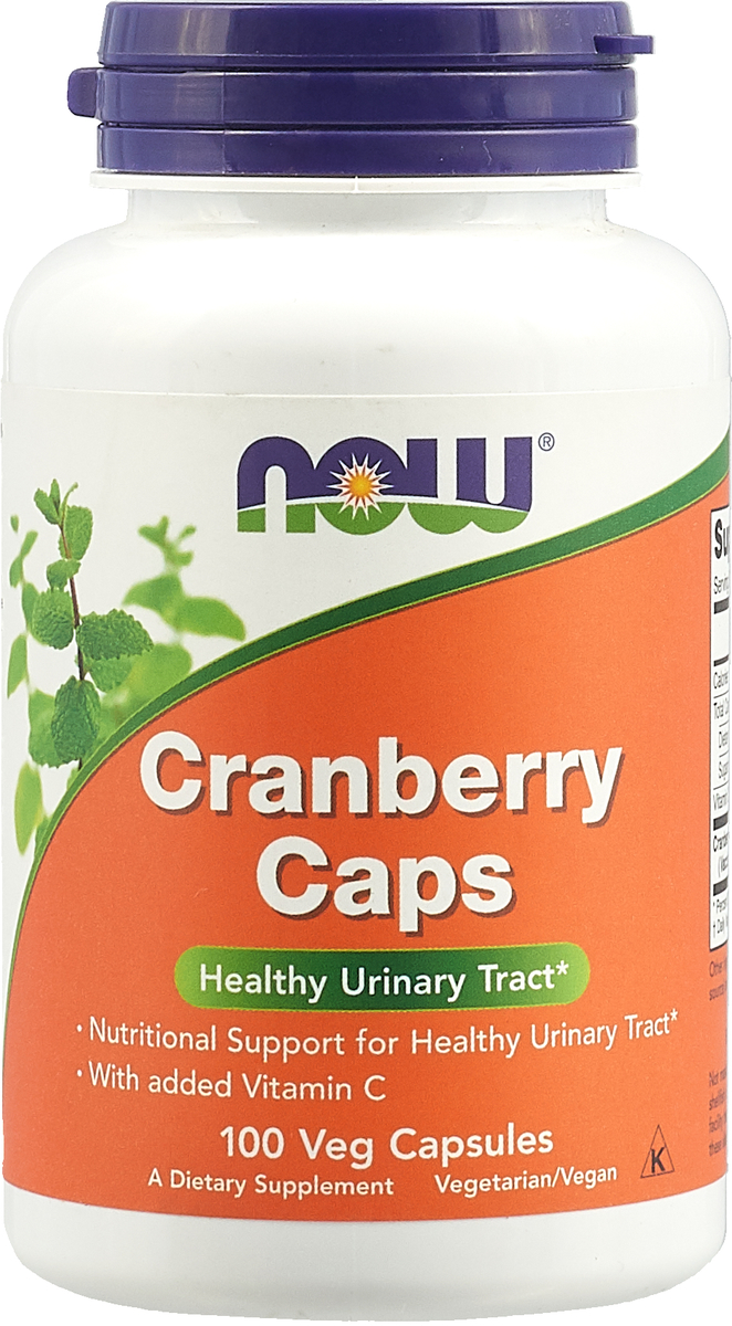 Антиоксидант Now Foods Cranberry Caps 700mg, 100 капс now foods л тианин капсулы 90шт