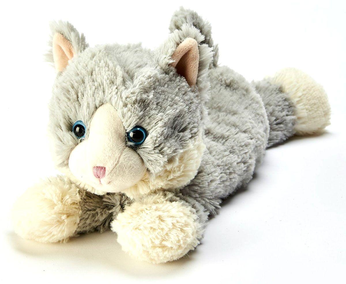 Warmies Игрушка-грелка Серая Киса - Мягкие игрушки