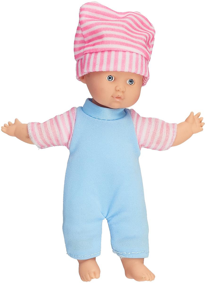 Mary Poppins Пупс Дени цвет одежды голубой белый розовый  полоску