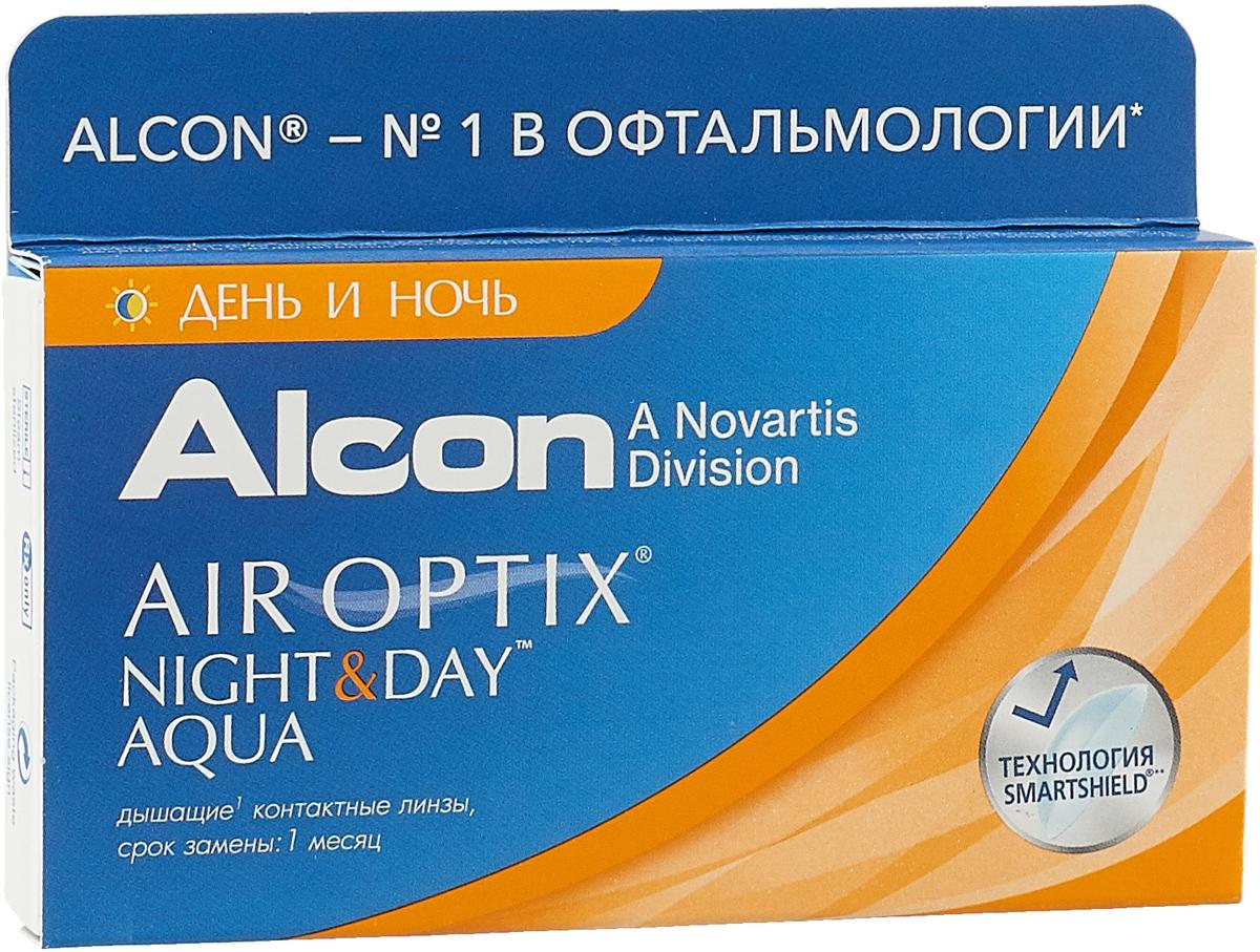 Alcon-CIBA Vision контактные линзы Air Optix Night & Day Aqua (3шт / 8.4 / -3.50)44354Само название линз Air Optix Night & Day Aqua говорит само за себя - это возможность использования одной пары линз 24 часа в сутки на протяжении целого месяца! Это уникальные линзы от мирового производителя Сiba Vision, не имеющие аналогов. Их неоспоримым преимуществом является отсутствие необходимости очищения и ухода за линзами. Линзы рассчитаны на непрерывный график ношения. Изготовлены из современного биосовместимого материала лотрафилкон А, который имеет очень высокий коэффициент пропускания кислорода, обеспечивая его доступ даже во время сна. Наивысшее пропускание кислорода! Кислородопроницаемость контактных линз Air Optix Night & Day Aqua - 175 Dk/t. Это более чем в 6 раз больше, чем у ближайших конкурентов. Еще одно отличие линз Air Optix Night & Day Aqua - их асферический дизайн. Множественные клинические исследования доказали, что поверхность линз устраняет асферические аберрации, что позволяет вам видеть более четко и повышает остроту зрения. Ежемесячные контактные линзы Air Optix Night & Day Aqua характеризуются низким содержанием воды. Именно это позволяет снизить до минимума дегидродацию. В конце дня у вас не возникнет ощущения сухости глаз или дискомфорта. С ними вы сможете наслаждаться жизнью. Контактные линзы Air Optix Night & Day Aqua смогли доказать, что непрерывное ношение линз - это безопасный и удобный метод коррекции зрения! Характеристики:Материал: лотрафилкон А. Кривизна: 8.4. Оптическая сила: - 3.50. Содержание воды: 24%. Диаметр: 13,8 мм. Количество линз: 3 шт. Размер упаковки: 9 см х 5 см х 1 см. Производитель: США. Товар сертифицирован. Уважаемые клиенты! Обращаем ваше внимание на то, что упаковка может иметь несколько видов дизайна. Поставка осуществляется в зависимости от наличия на складе.Контактные линзы или очки: советы офтальмологов. Статья OZON Гид